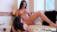 Kinky Taylor Vixen blows and sucks on a big toy! Thumb