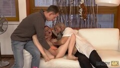 DADDY4K. Old gentleman really wants to try young vagina Thumb
