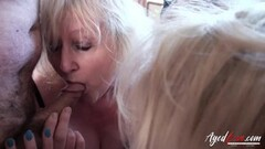 3 Mature Ladies Occupying One Cock Thumb