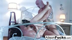 Cute Alison Tyler and her male gigolo Thumb