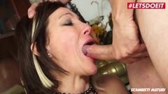 Cute Italian Mom Has Rough Sex With Teen Stud Thumb