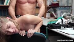 Naughty thief gets her hot punishment Thumb