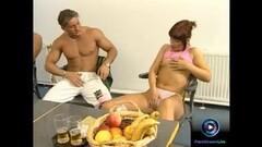 Sexy babes masturbating in group Thumb