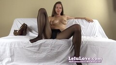 Pantyhose FemDom humiliates you and bosses you about Thumb