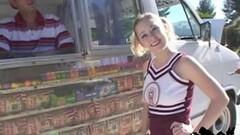 Sexy Cheerleader tease with Cindi Loo Thumb