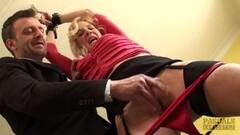 Kinky British sub milf bouncing ontop maledoms cock Thumb
