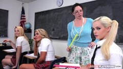 Cum spunked Elsa Jean in sex education class Thumb