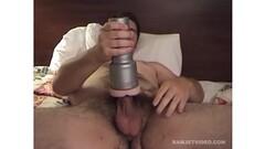 Fleshlight fun with Amateur Shawn Thumb
